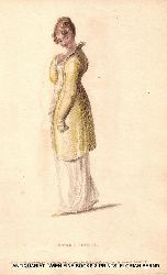 Damenmode 1810 er Jahre OPERA DRESS (=From: The Repository of arts, literature, commerce, manufactures, fashions and politics)