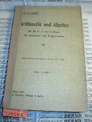 Wolletz, K.:  Arithmetik und Algebra für die 6., 7. und 8. Klasse der Gymnasien und Realgymnasien.