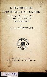 """Hermann, Franz:  Lohnproblem und Wirtschaftsethik. Die Beziehungen zwischen """"moderner Theorie"""" und katholischer Wirtschaftsethik dargestellt am Lohnproblem."""