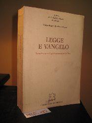 Alberigo, Giuseppe; e. a.:  Legge e vangelo. Discussione su una legge fondamentale per la Chiesa. (= Testi e ricerche di Scienze religiose, tomo 8)