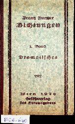 Furger, Franz; Furger, Hans (Hrsg.):  Dichtungen, 1. Band: Chairusage die griechische Sklavin. Schauspiel in 5 Aufzügen. Dramatische Bruchstücke.