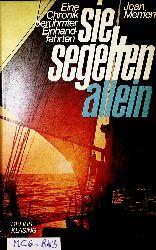 Merrien, Jean:  Sie segelten allein. [Übertr. von Ulrich Zimmermann]