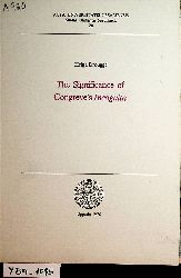 Drougge, Helga:  The significance of Congreve