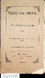 [Sepp, Johann Nepomuk]:  Joseph von Görres : eine Skizze seines Lebens ; mit dem wohlgetroffenen Bildnisse von Joseph v. Görres