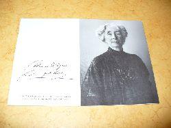 Cosima Wagner, geb. Liszt:  Eine Zeittafel 1837 - 1930.