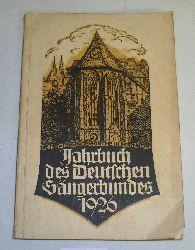 Amtsrat Ernst Schlicht  Jahrbuch des deutschen Sängerbundes 1926