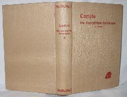 Thomas Carlyle  Carlyle Die französische Revolution