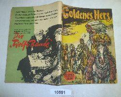 Adolf Branald  Goldenes Herz (Kleine Jugendreihe Nr. 9 / 1957 - 8. Jahrgang, 1. Maiheft)