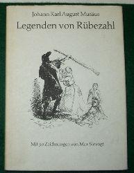 Johann Karl August Musäus  Legenden von Rübezahl