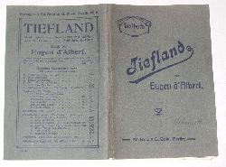 Eugen d`Albert  Tiefland