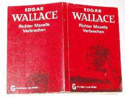 Edgar Wallace  Richter Maxells Verbrechen
