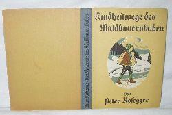 Rosegger, Peter  Kindheitswege des Waldbauernbuben