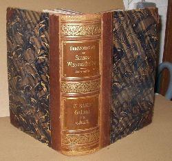 dr.J. Conrad  Handwörterbuch der Staatswissenschaft