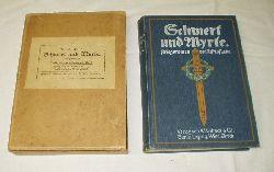 Alfred Funke  Schwert und Myrte - Kriegsroman