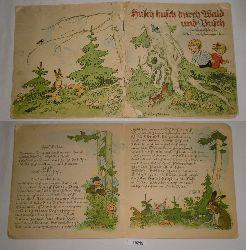 Fritz Baumgarten  Husch husch durch Wald und Busch
