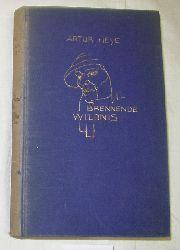 Artur Heye  Brennende Wildnis - Bilderbuch eines langen Weges durch befremdliche Länder und Zeiten