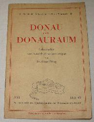 Dr. Hans Pflug  Donau und Donauraum