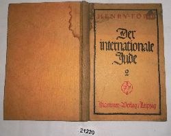 Henry Ford  Der Internationale Jude 2