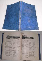 kein Autor  Autotypenbuch 1932: Autotypenbücher - Typentafeln des Reichsverbandes der Automobilindustrie für Personenwagen, Lastwagen, Omnibusse, Krafträder, Motoren und Einbaufertige Aggregate