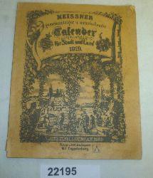 kein Autor  Meissner gemeinnütziger und unterhaltender Calender für Stadt und Land 1919