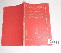 Dr. Friedrich Becker  Einführung in die Astronomie (Meyers kleine Handbücherei Nr. 41)