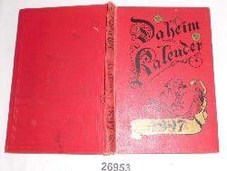 herausgegeben von der Redaktion des Daheim  Daheim-Kalender für das Deutsche Reich auf das Gemeinjahr 1897