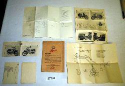 VEB Fahrzeug- und Gerätewerk Simson Suhl  Originalumschlag Simson mit wichtigen Unterlagen und Hinweisen für Kleinroller und Kleinkraftrad