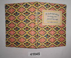 Josua L. Gampp  Mörikeliederbuch - Handzeichnungen von Josua L. Gampp
