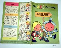 """""""Herausgeber Zentralleitung der Pionierorganisation """"""""Ernst Thälmann""""""""""""  Die ABC Zeitung Jahrgang 1961 Heft 7/8"""