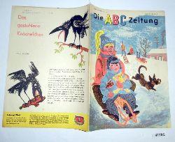 """""""Herausgeber Zentralleitung der Pionierorganisation """"""""Ernst Thälmann""""""""""""  Die ABC Zeitung Jahrgang 1963 Heft 1"""
