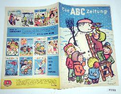 """""""Herausgeber Zentralleitung der Pionierorganisation """"""""Ernst Thälmann""""""""""""  Die ABC Zeitung Jahrgang 1964 Heft 1"""