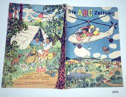 """""""Herausgeber Zentralleitung der Pionierorganisation """"""""Ernst Thälmann""""""""""""  Die ABC Zeitung Jahrgang 1960 Heft 7/8"""