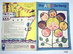 """""""Herausgeber Zentralleitung der Pionierorganisation """"""""Ernst Thälmann""""""""""""  Die ABC Zeitung Jahrgang 1963 Heft 5"""