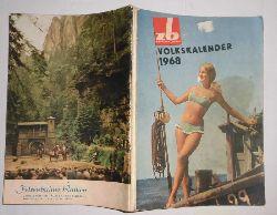 unbekannt  Volkskalender 1968