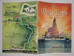 unbekannt  Die weiße Flotte des Elbe-Stromes