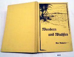 Max Michaelis (Volksschullehrer)  Wandern und Wachsen in und um Zwickau - Ein Fahrten- und Schollenbuch