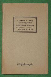 Joseph von Eichendorff  Die Glücksritter / Das Schloß Dürande