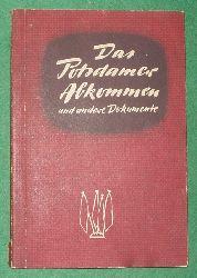 unbekannt  Das Potsdamer Abkommen und andere Dokumente