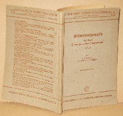 C.E. Kraus  Kriminalpraxis Handbuch für den polizeilichen Dienstgebrauch