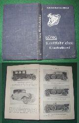 Ad. König  Kraftfahrlehre (Chauffeurkursus)