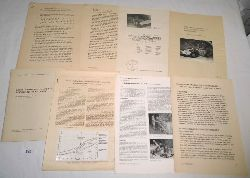 verschiedene Autoren  Konvolut Unterlagen zur Technik im Bergbau