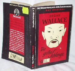 Edgar Wallace  Die gelbe Schlange