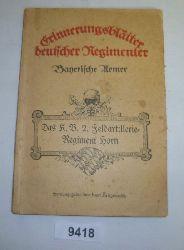 Adolf Thelemann  Erinnerungsblätter deutscher Regimenter - Bayerische Armee Heft 27