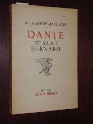 Masseron, Alexandre:  Dante et Saint Bernard.