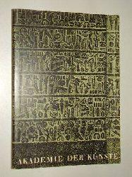 Maurer, Ingeborg:  Kunst und Kultur der Hethiter. Eine Ausstellung d. Dt. Kunstrates 9. April - 299. Mai 1961, Berlin, Akademie der Künste. [Ausstellungskatalog].
