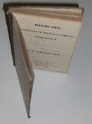 Delectus Poesis Elegiacorum Graecorum. (= Delectus Poesis Graecorum Elegiacae, Iambicae, Melicae. Sectio I: Poetae Elegiaci). Ed. F. G. Schneidewin.