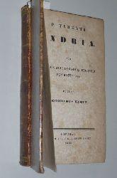 Terentius Afer, Publius:  P. Terentii Andria/ Adelphoe cum scholiis aeli donati et eugraphi commentariis. Ed. Reinholdus Klotz.