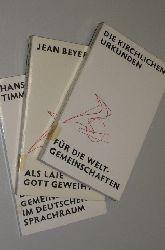 Der neue Weg - Schriftenreihe für Weltgemeinschaften [Instituta Saecularia]. Bde. 1-3.