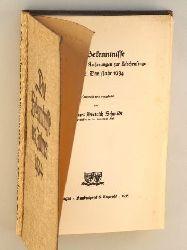 Die Bekenntnisse und grundsätzlichen Äußerungen zur Kirchenfrage. Band 2: Das Jahr 1934. Gesammelt u. eingel. von Kurt Dietrich Schmidt.