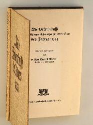 Die Bekenntnisse und grundsätzlichen Äußerungen zur Kirchenfrage des Jahres 1933. Gesammelt u. eingeleitet von Kurt Dietrich Schmidt.